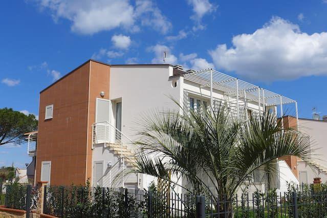 Apartamento con balcón para 5 personas