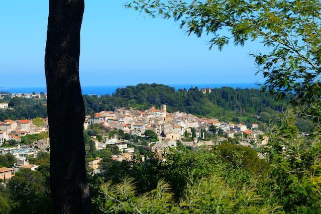 T2 dans villa vue mer, Alpes & village de Biot