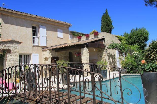 Piso / casa en villa con piscina Aviñón