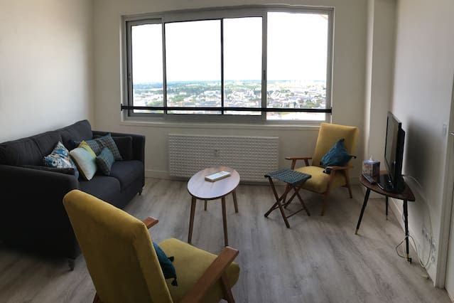 Practical apartment with 1 room