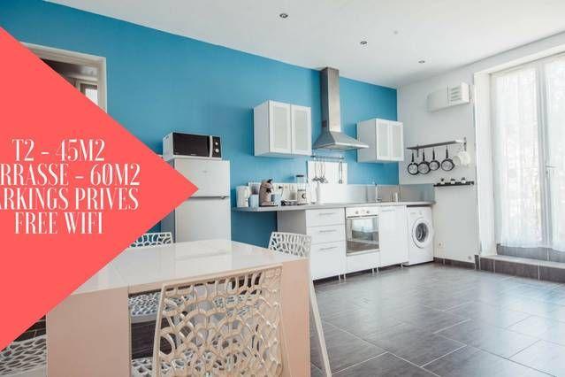 Dotado alojamiento de 45 m²