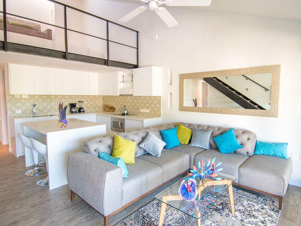 Vivienda en Huatulco de 2 habitaciones