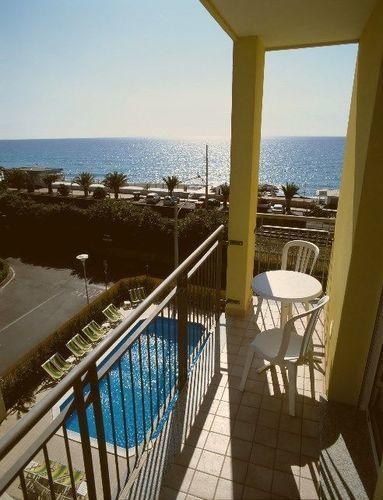 Apartamento vacacional Estudio con balcón