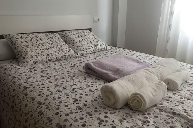 Apartamento luminoso de 3 dormitorios en Soria