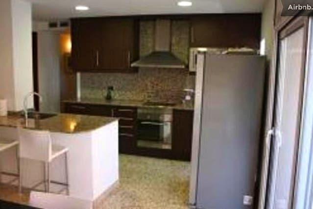 Apartamento en Segur de calafell con  Sábanas y toallas
