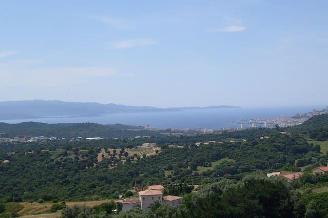 F2 Vue panoramique golfe d'Ajaccio