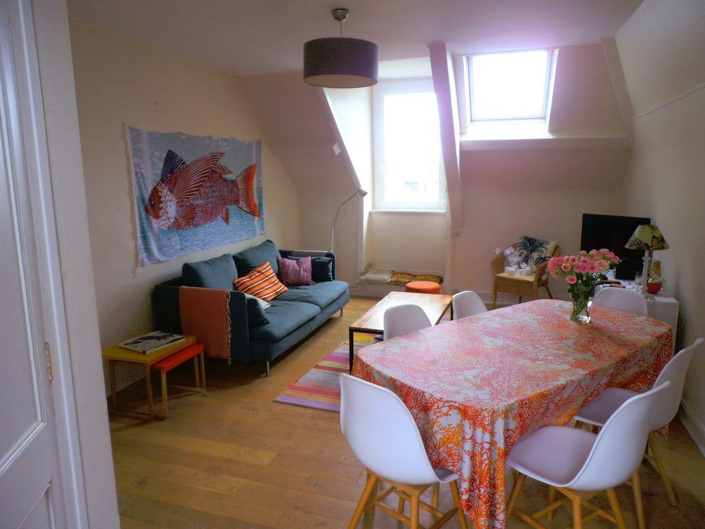 Hébergement de 80 m² à 3 chambres