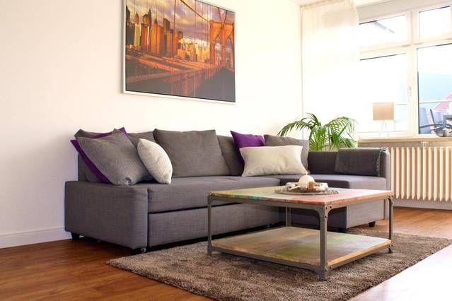 KIELER WOCHE GEHEIMTIPP  |  Moderne 2-Zimmer-Whg. direkt in der City