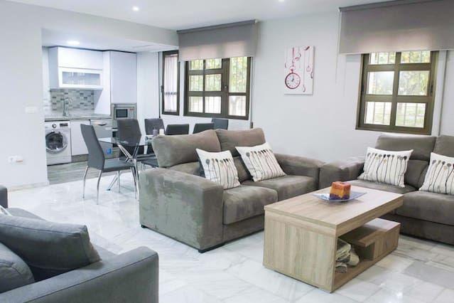 Alojamiento de 117 m² de 2 habitaciones