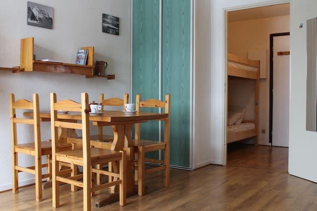Alojamiento de 25 m² con balcón
