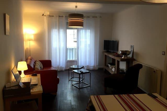 Vivienda con balcón de 2 habitaciones