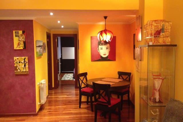 Popular apartamento de 2 dormitorios en Gijón