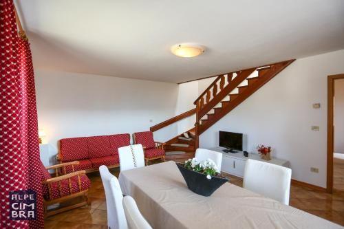 Alojamiento en Folgaria con balcón
