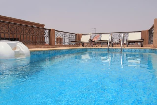 Centro Apartamento de lujo Gueliz con piscina