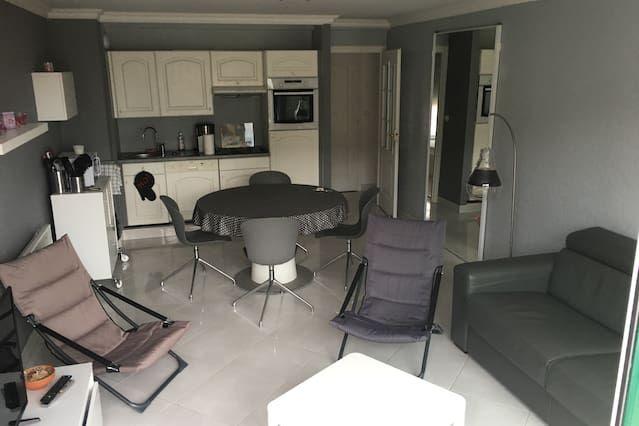 apartamento Le Touquet, garaje, a 100 metros de la playa y de la calle San Juan