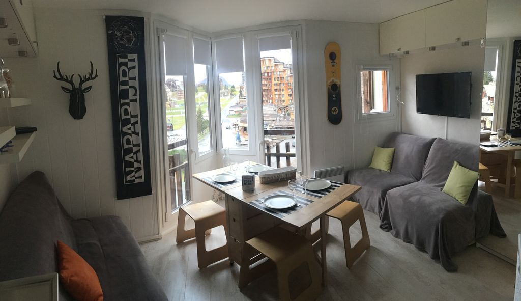 Práctico alojamiento en Morzine