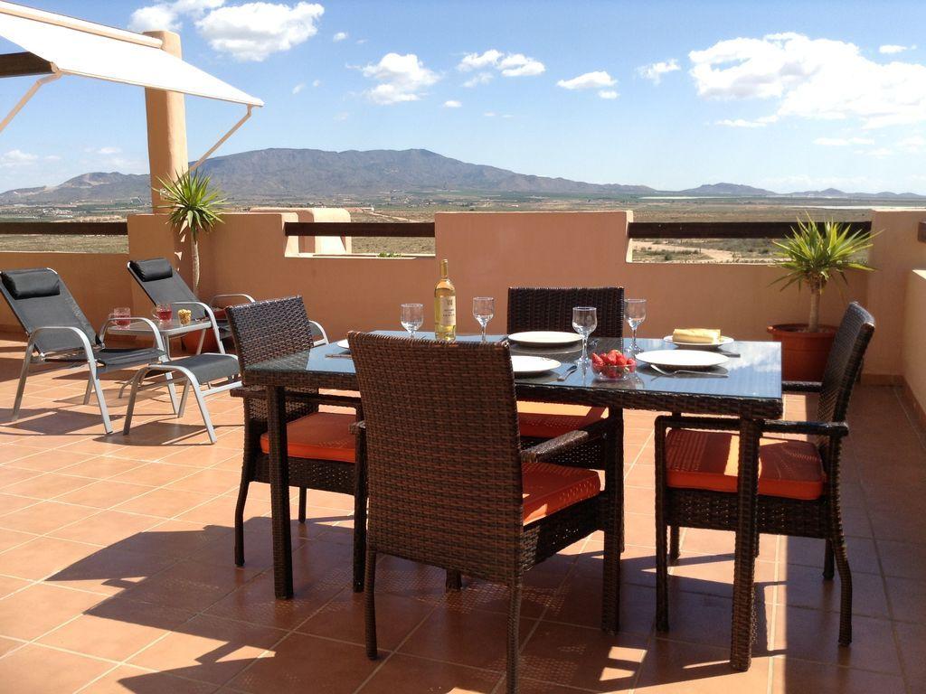 Cosy holiday rental in Alhama de murcia