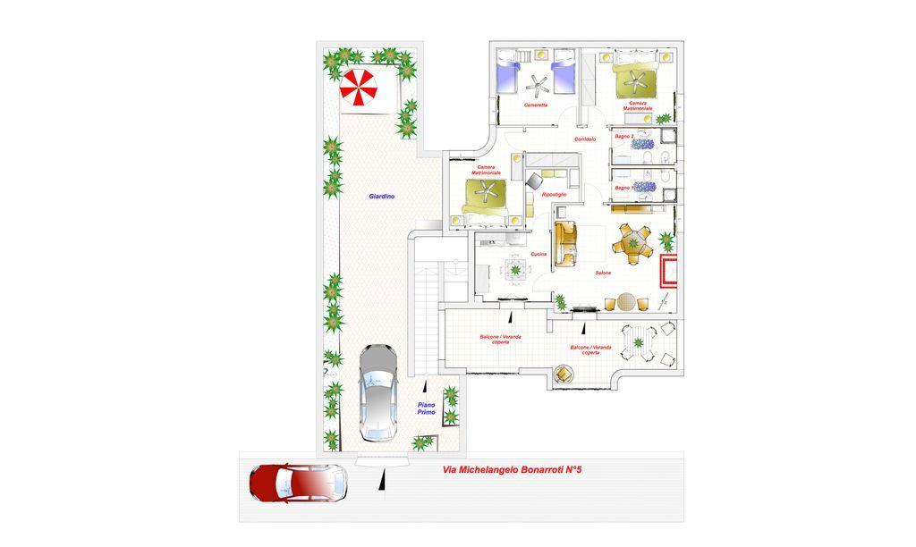 Alojamiento estupendo con parking incluído