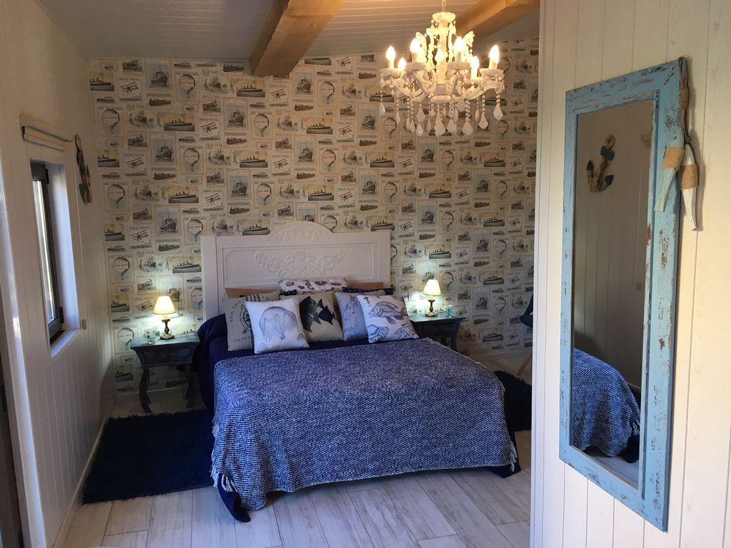 Alojamiento de 1 habitación en Os camiños chans