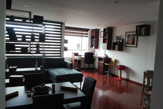 Apartamento en Bogotá de 1 habitación
