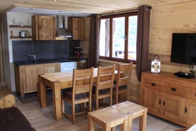 Property equipped in Morzine