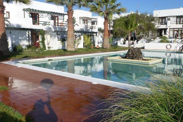 Apartamento duplex precioso en Lanzarote con gran Piscina