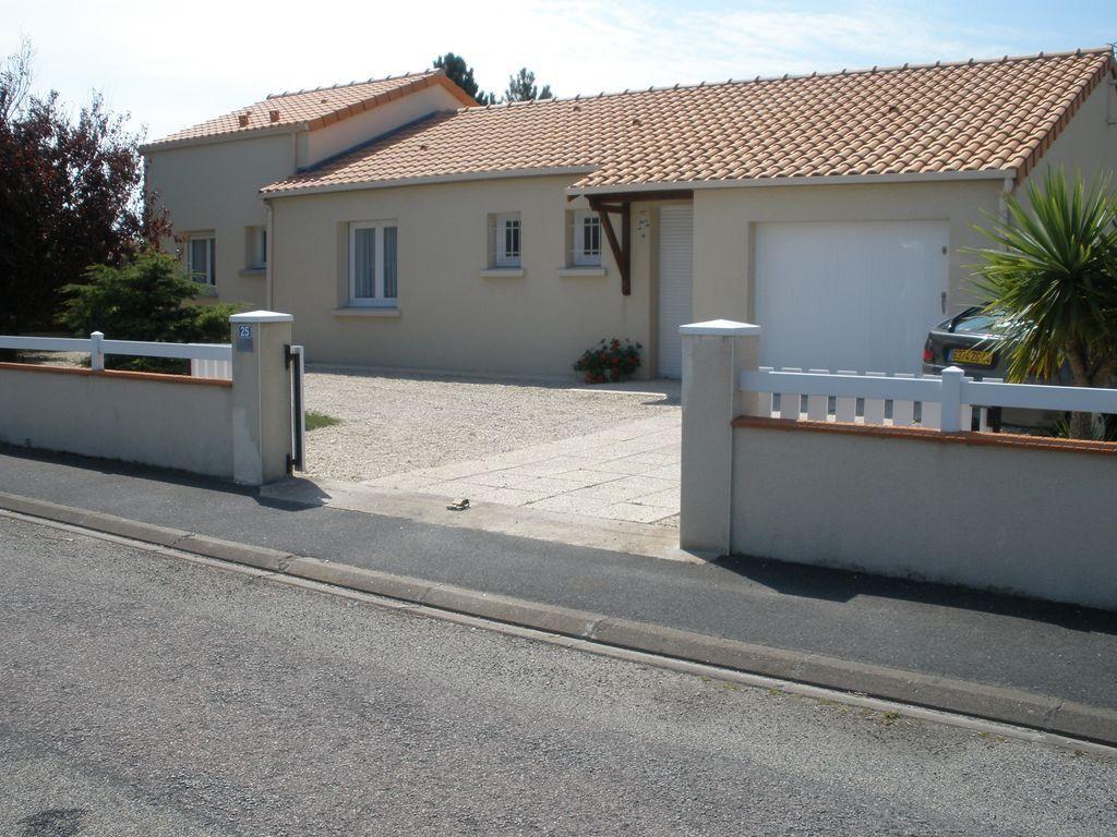 Alojamiento en Préfailles de 2 habitaciones