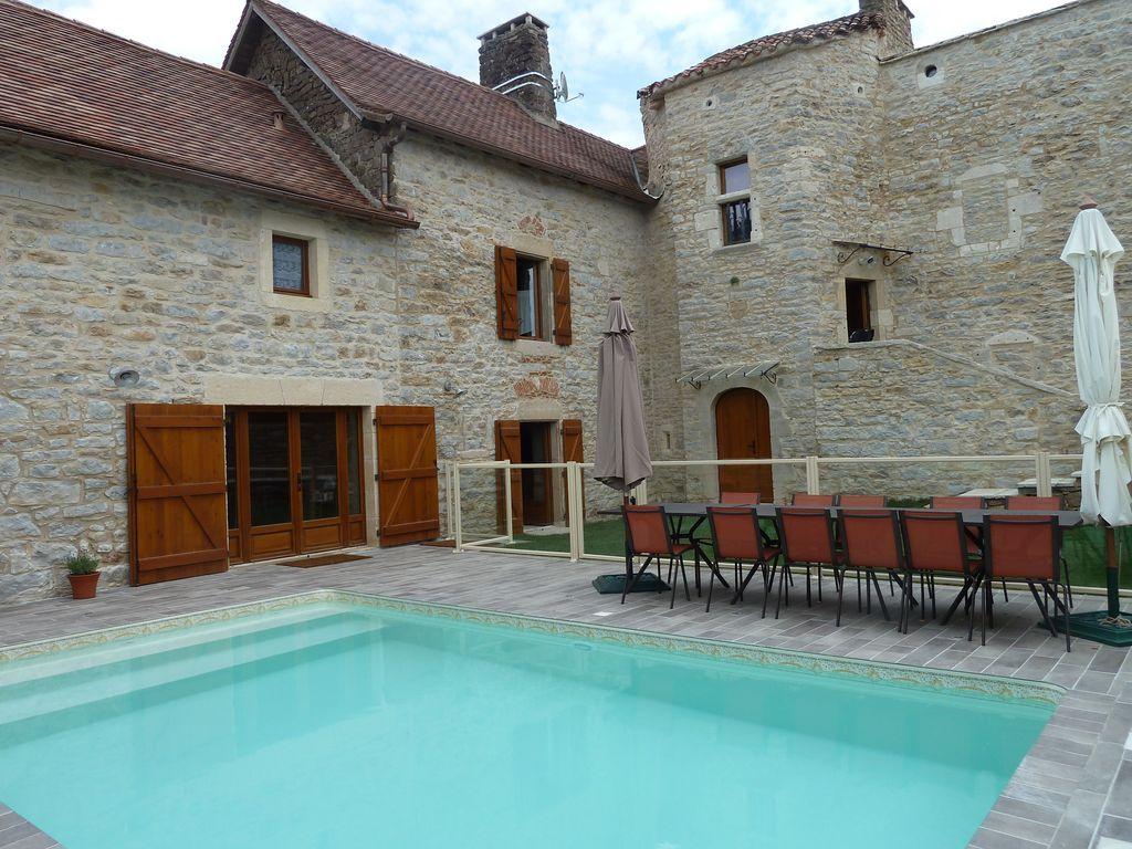 Casa para 15 personas con piscina