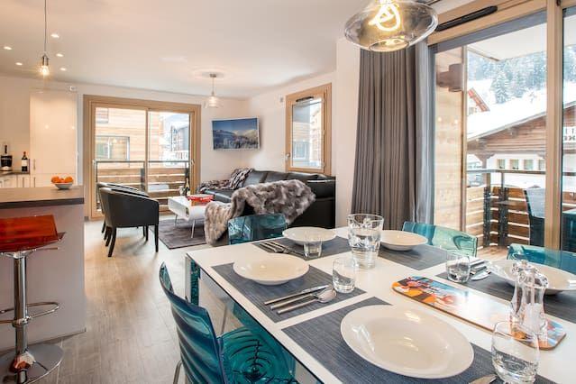 Eingerichtete Ferienwohnung auf 96 m²
