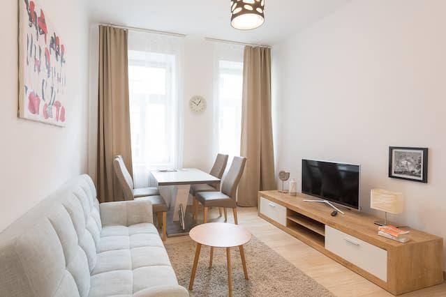 Praktische Wohnung mit Wi-Fi