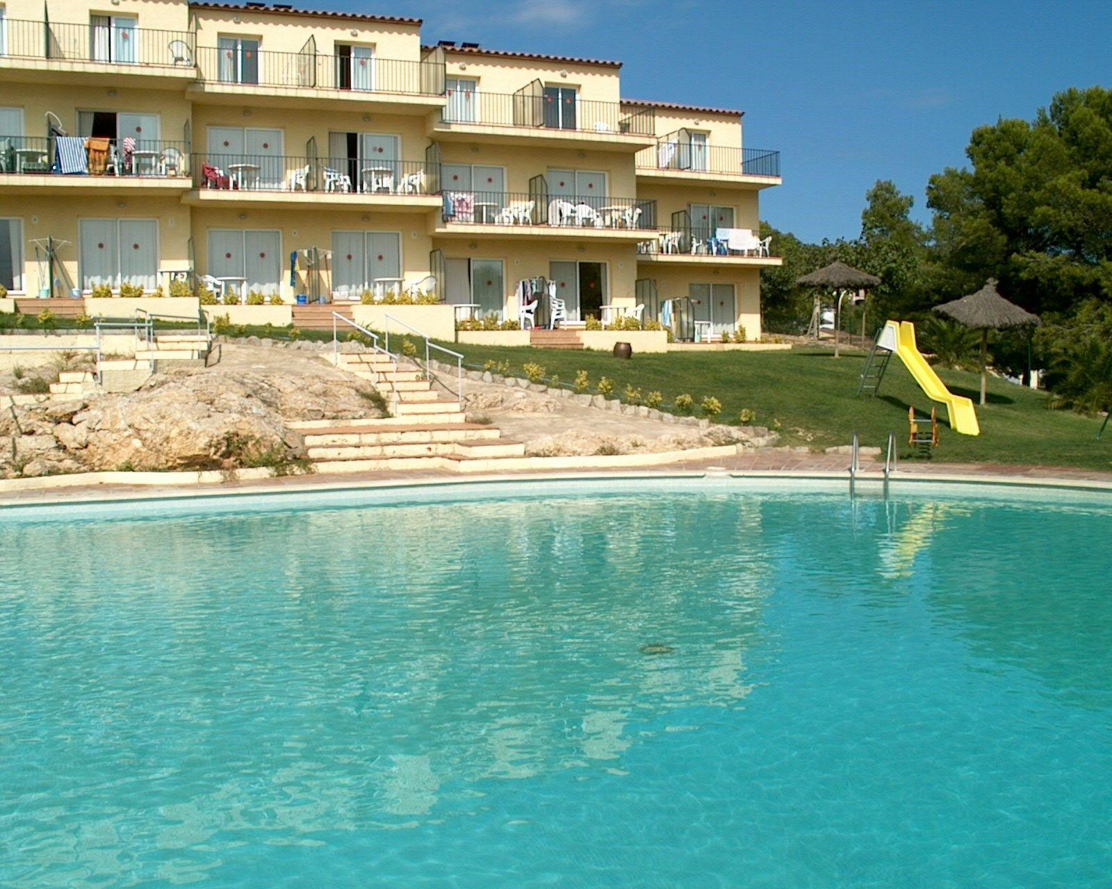 appartement de vacances avec piscine