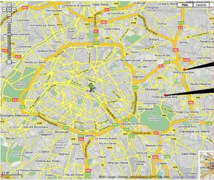 APPARTS T2 50 y 60 m 2 a 4 personas 5mn PARIS