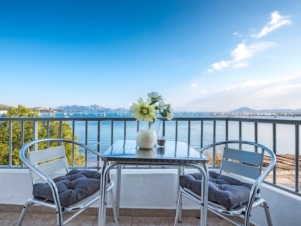 Mejores vistas de la Med.  Beach Luxury-Apartamento acceso frontal directo a la playa