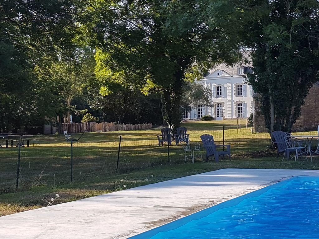 Alojamiento en Pluneret para 8 huéspedes