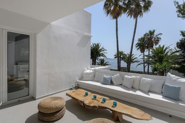 175 m² flat with garden