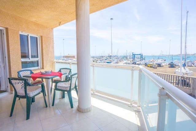 Apartment in Corralejo with balcony