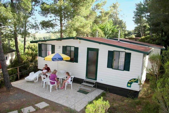 Casa móvil Tienda de campaña en el camping Residence Village