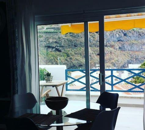 Alojamiento con balcón en Icod de los vinos