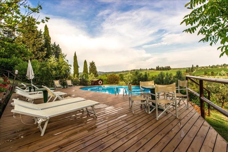 Casa para 3 huéspedes con piscina