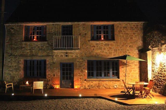 Casa de 3 habitaciones en Saint-coulomb