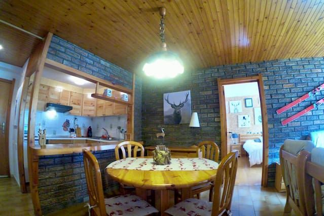 ¡Apartamento en VIELHA ideal para familias!