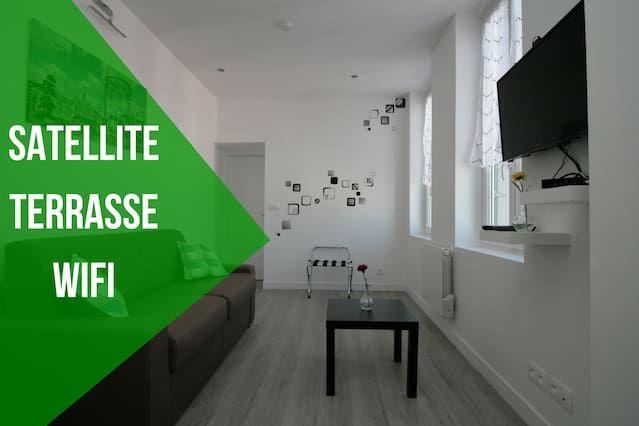 Hébergement de 1 chambre à Saint-quentin