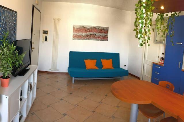Bel appartement avec vue sur la mer et une grande terrasse