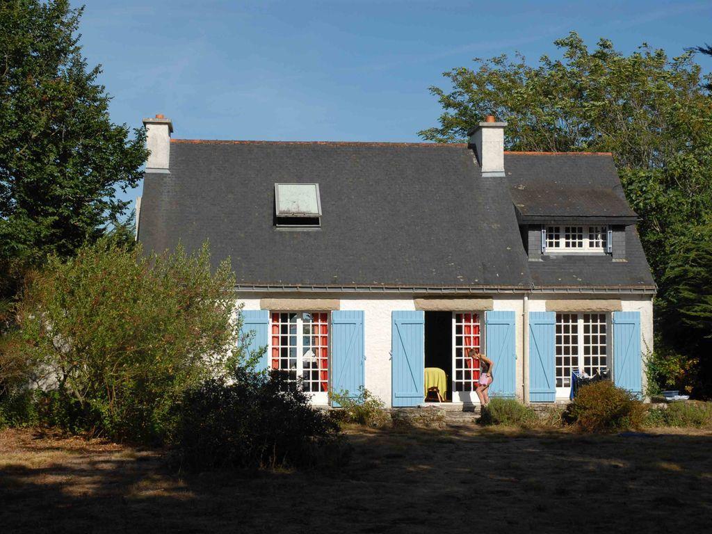 Vivienda en Île-aux-moines con jardín