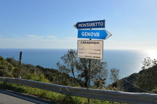Villa independiente en las colinas de Liguria verde a poca distancia de las Cinque Terre