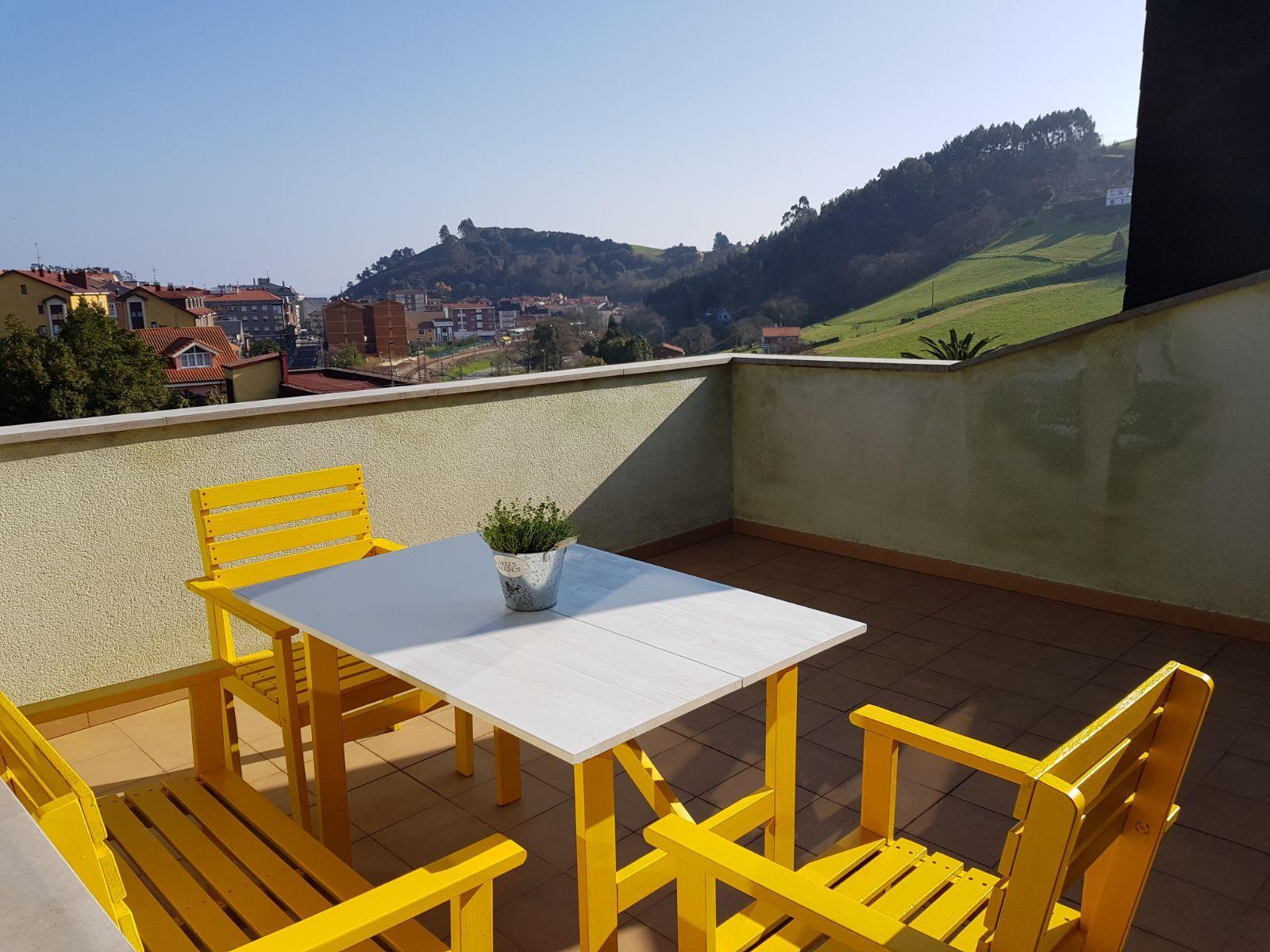 Apartamento panorámico en Gijón  candás-carreño  asturias