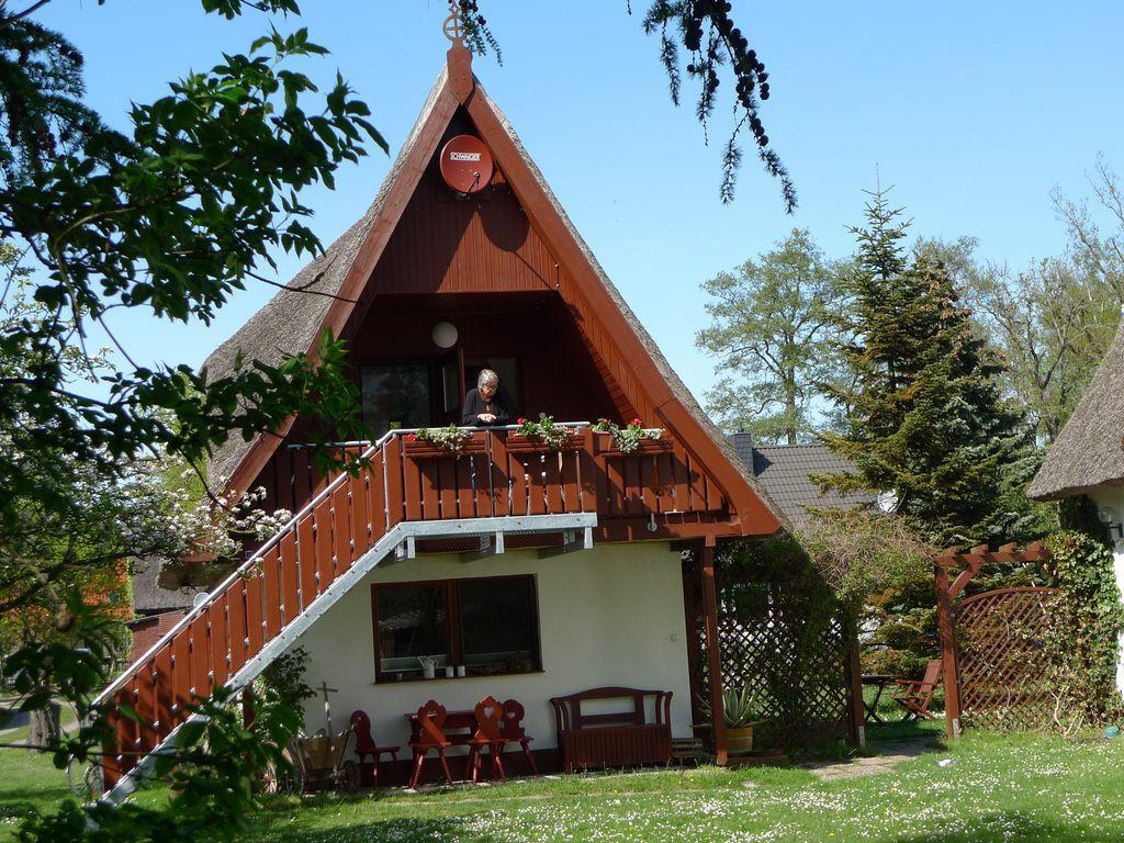 Ferienwohnung in Ostseebad prerow mit Garten