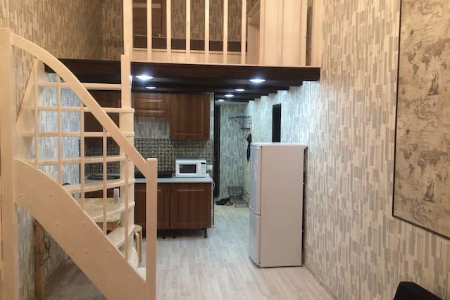 Apartamento provisto de 1 habitación
