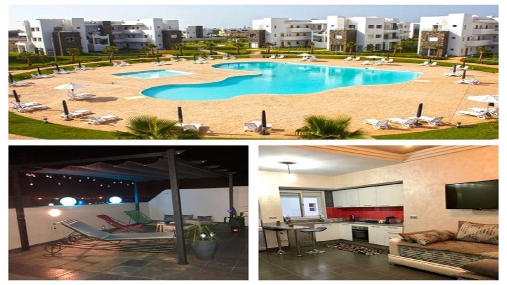 Apartamento provisto en Saidia province de berkane