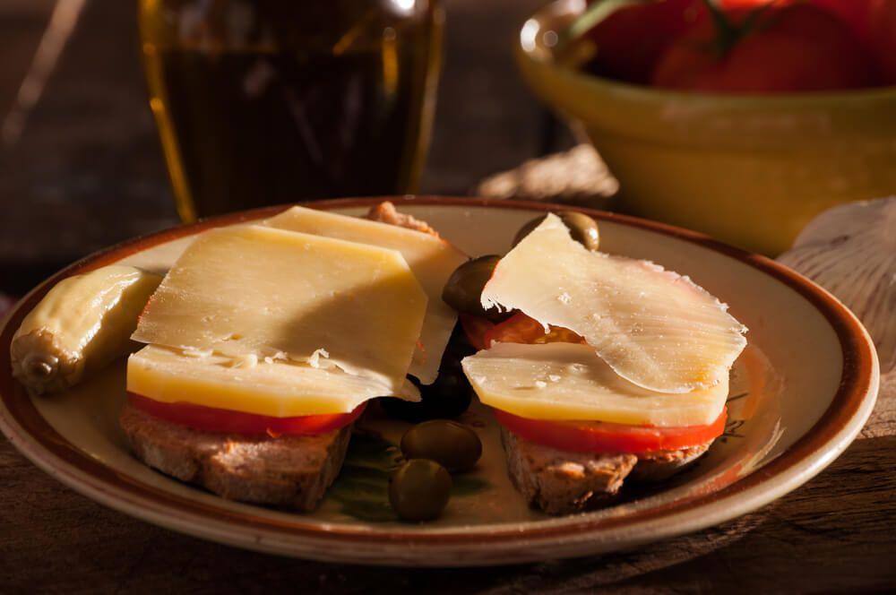 fromage de mahon, minorque